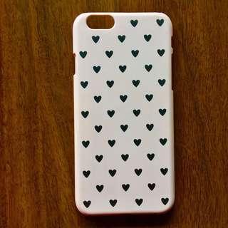 Light Pink heart Iphone 6/6s Case