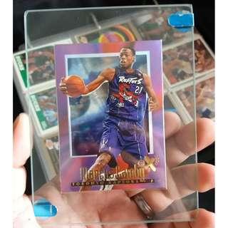 Rare 1998 Skybox EX NBA Card Marcus Camby Transparent Card