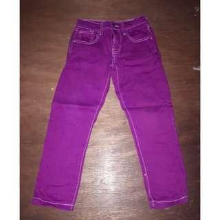 Preloved Barbie Colored Pants