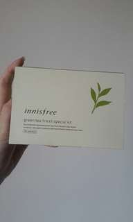 PRELOVED innisfree green tea special kit