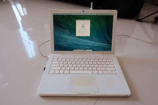Macbook White 2009 Apa Adanya