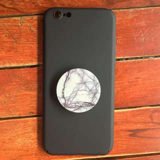 Matte Black Iphone 6/6s Case