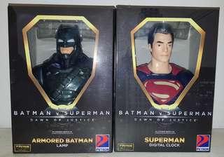 Petron Batman V Superman Dawn Of Justice Collectibles Set of 4