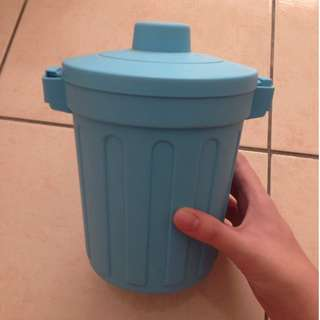 Mini Bin / Trash Can / Storage Box ( Blue )  #KayaRaya