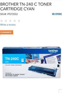 Brother Colour Toner Cartridge TN-240C