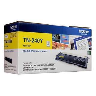 Brother Colour Toner Cartridge TN-240Y