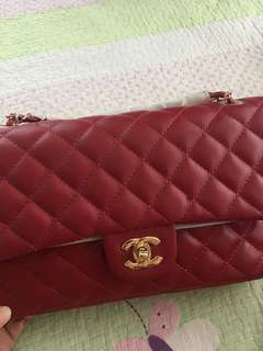 Inspired Chanel Handbag in Red Color