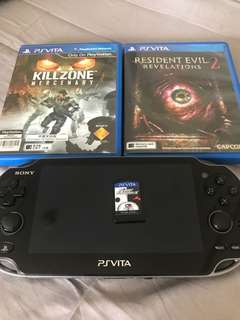 Pre loved PS Vita 3.67 and games