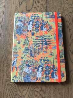 Crabtree & Evelyn Notebook gardeners note pad 筆記本