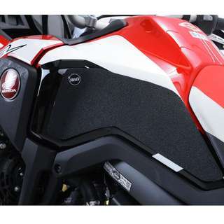 R&G Tank Traction Grips (CLEAR) for Honda Africa Twin '16- (EZRG330)
