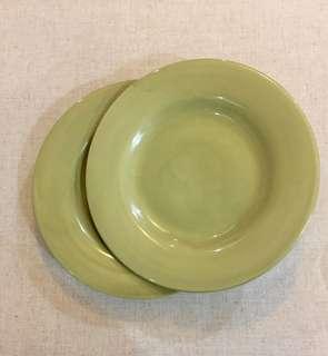 Round 11.5 in Serving Plates x 2