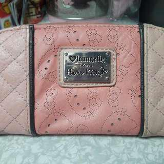 Hello kitty loungefly long wallet