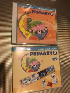 Yamaha Junior Music Course Primary 2 DVD + CD