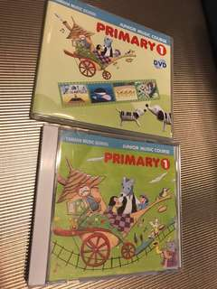 Yamaha Junior Music Course Primary 1 DVD + CD