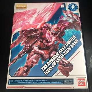 透明版 Mg 0 raiser transam ver 不包括 00 gundam gn劍 bandai 台場 限定版 高達