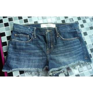 🚚 A&f Abercrombie & Fitch牛仔短褲