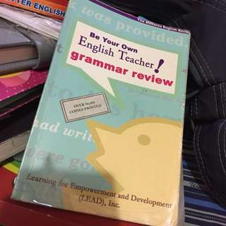 Be Your Own English Teacher! Grammar Review