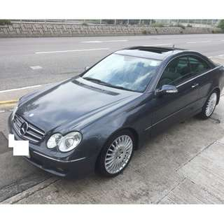 2008 MERCEDES-BENZ CLK280 3.0