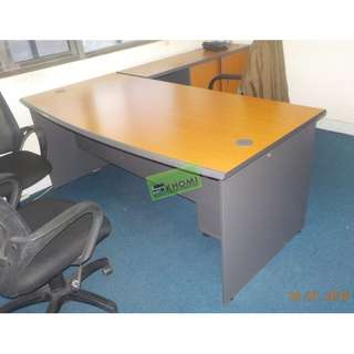 L TYPE OFFICE TABLE MOBILE PEDESTAL CABINET & SIDE CABINET
