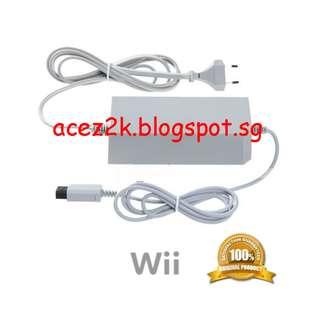 [BN] Wii Official Nintendo Original AC Power Adapter - RVL-002 (Brand New)