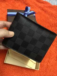 Louis Vuitton Multiple Damier graphite wallet