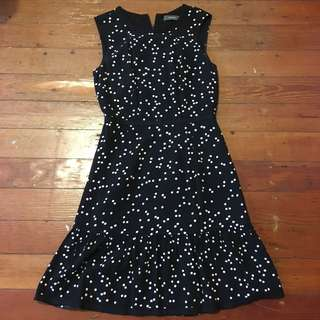 Marcs polka dot dress