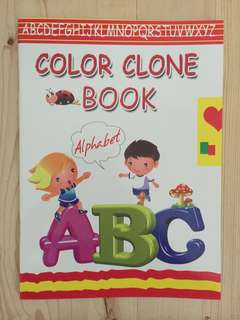 Color Clone Book , From A-Z : I Write My ABC