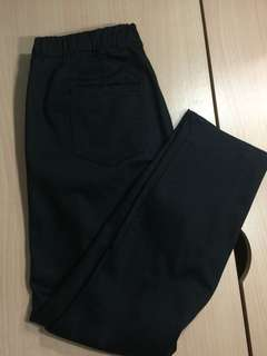 Uniqlo Black Cropped Pants