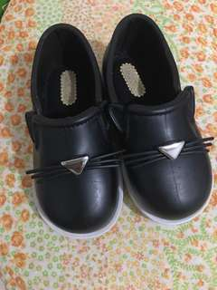 Mini Melissa Black Cat Slip On Size 7