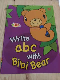 Write ABC with Bibi Bear