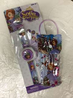 Sophia Projector Watch bundle set