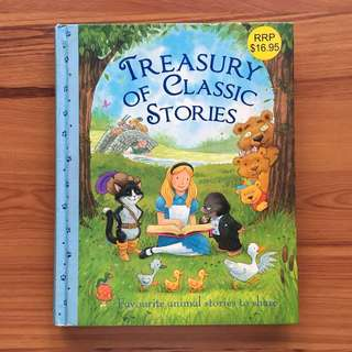 Treasury of Classic  Stories - Favorite Animal Stories to Share
