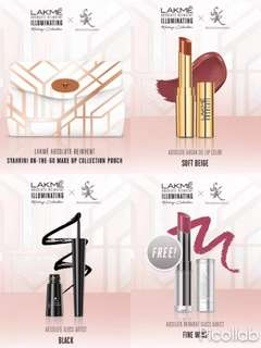 Set makeup Lakme Absolute Princess Syahrini On-The-Go Makeup Collection