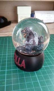 Godzilla Glass Orb Display