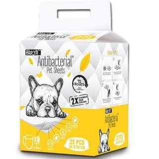 Absorb Plus Anti Bacterial Pet Sheets