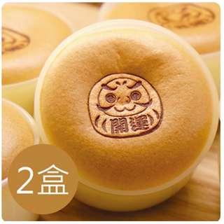 台中十大人氣伴手禮第一名久久津乳酪菓子手造所 開運布丁燒(4入/ 盒,共2盒)