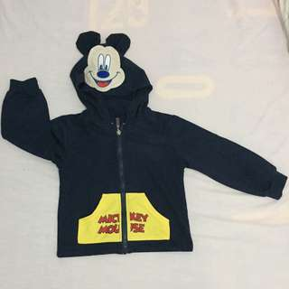 Mickey mouse hoodie (tiangge)