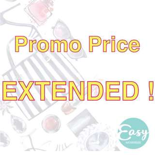 Storewide Promo Price Extended
