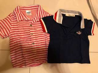 3-6m Collared Shirts for boys
