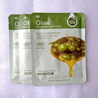 Rorec Olive Sheet Mask