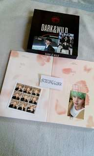 bts album with photocard