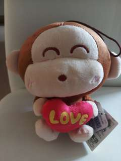 可愛猴子公仔