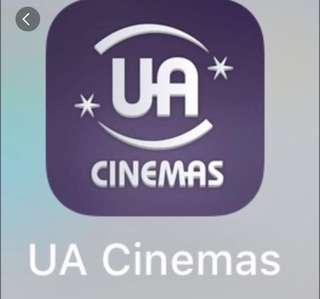 UA戲院代購票 任何2D戲票 3D只需補回差價