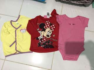 Take all Set for baby girl 12-18months Minnie Mouse snoopy disney