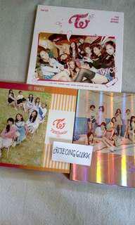 twice album with photocard