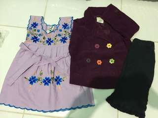 Take all Set dress, jacket and pants for 12-24months