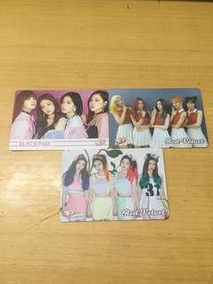 Blackpink/Red Velvet yescard