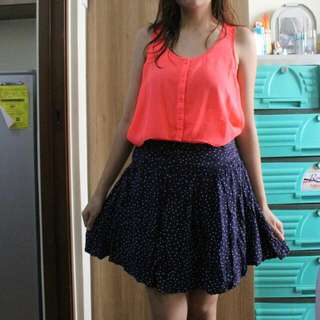 Bundle 3 Divided top and cache cache skirt