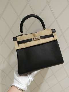 Hermes kelly 25 in black