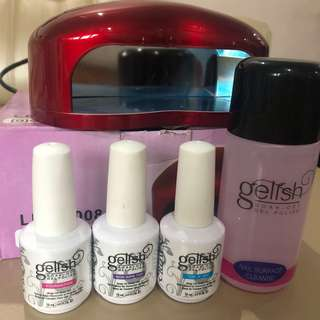 Gelish Manicure/Pedicure Set